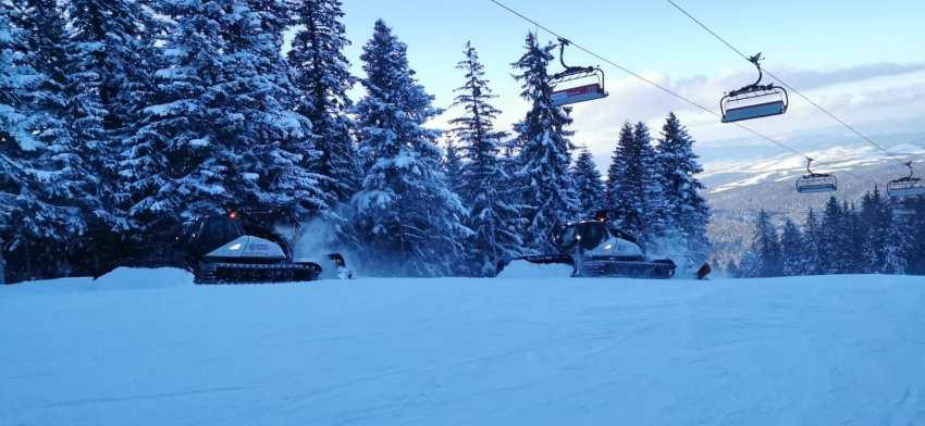 Намалени цени в Боровец и Пампорово, а условията за ски се подобряват